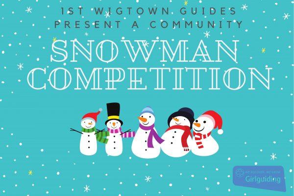 Landscape Snowman Competition