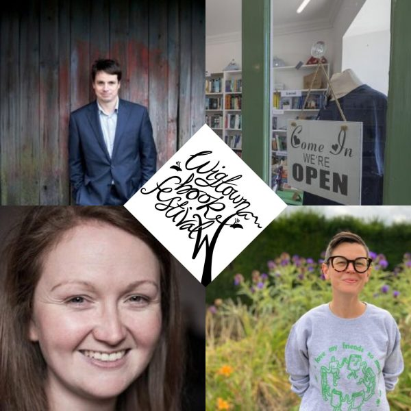 Podcast cover image with Adrian Turpin, Anne Barclay and Peggy Hughes