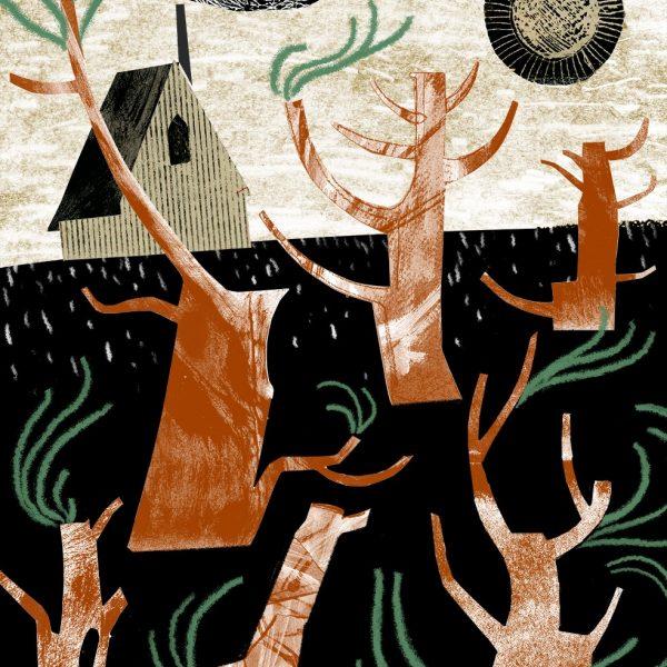 Astrid Jaekel Abbey illustration