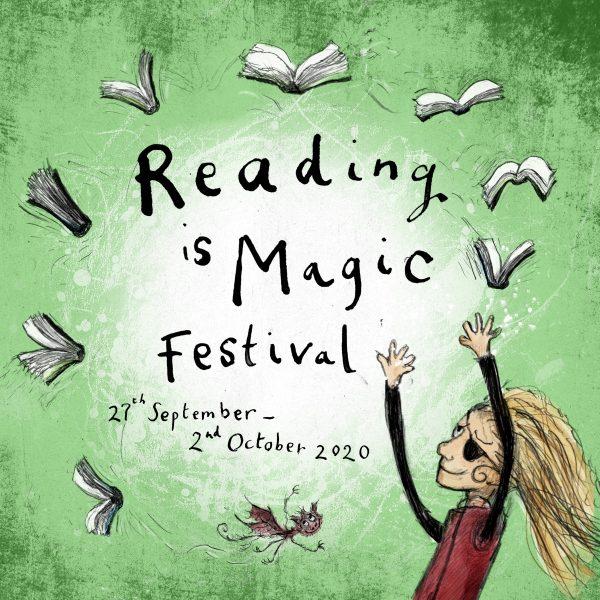 Reading Is Magic Festival Logo Square