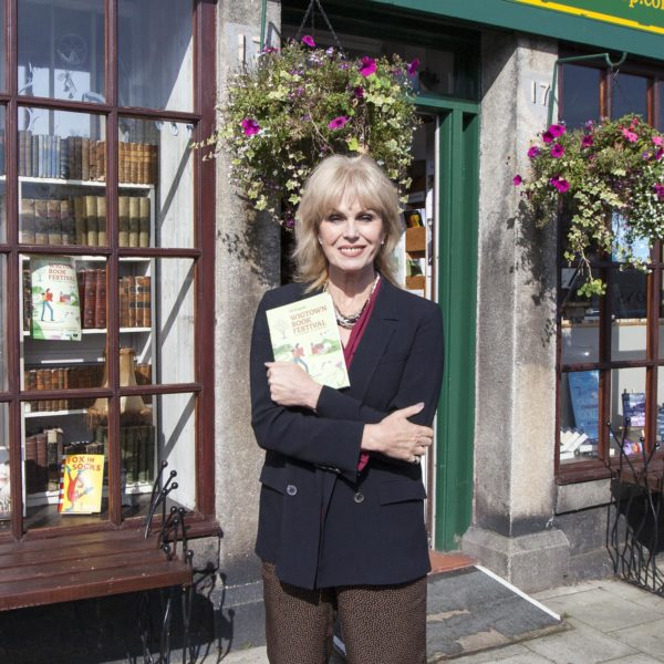 Joanna Lumley At The Wigtown Book Festival © Colin Tennat 2