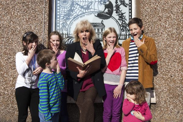 Joanna Lumley Launches Windows Appeal At Wigtown Book Festival 1 © Colin Tennat