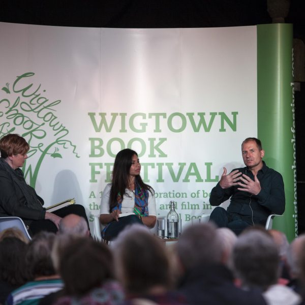 A panel event during Wigtown Book Festival